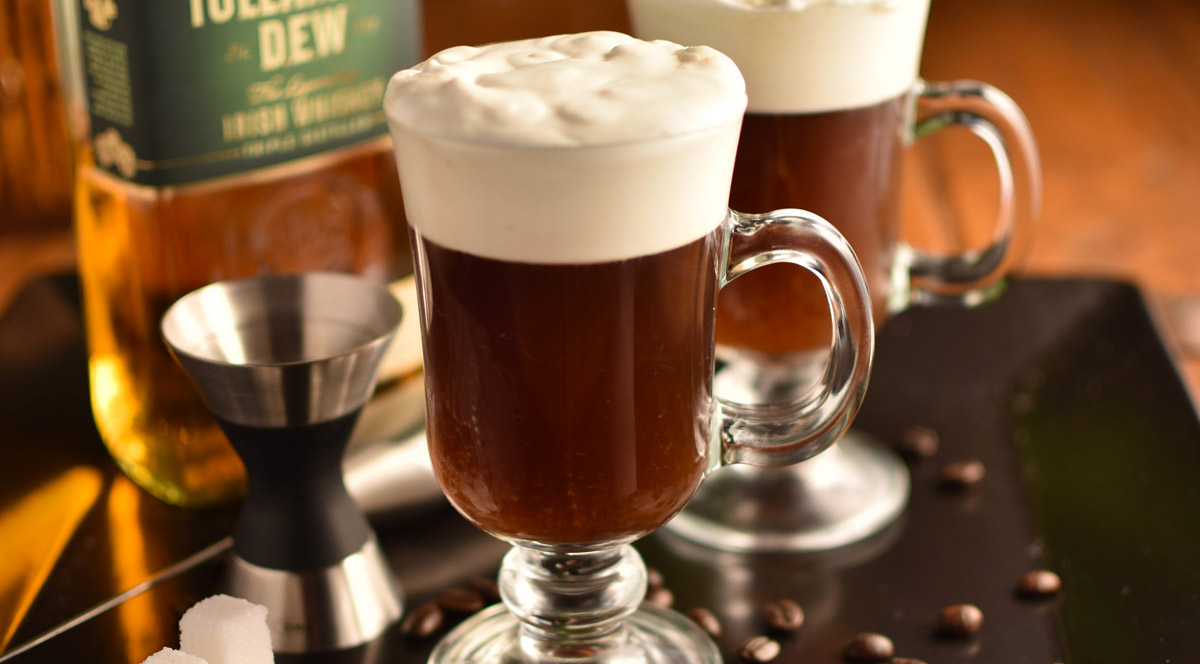 whisky irish coffee